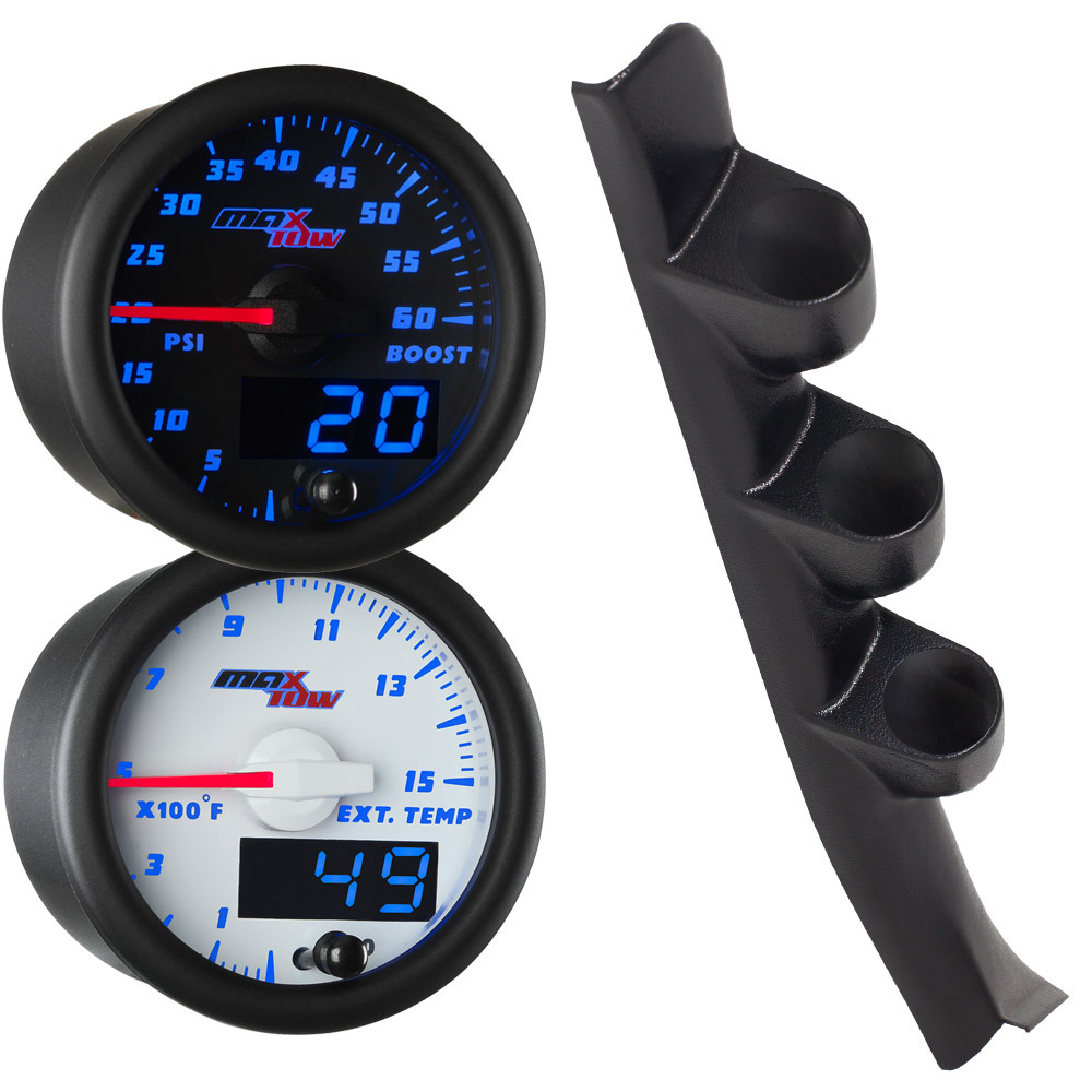 1988-1994 GMC Sierra Sierra Blue MaxTow Gauge Package