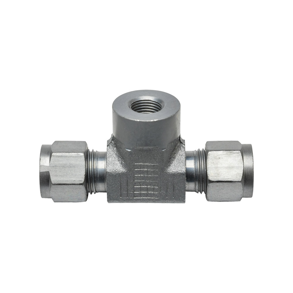 """3/8"""" Transmission Line T-Fitting Adapter"""