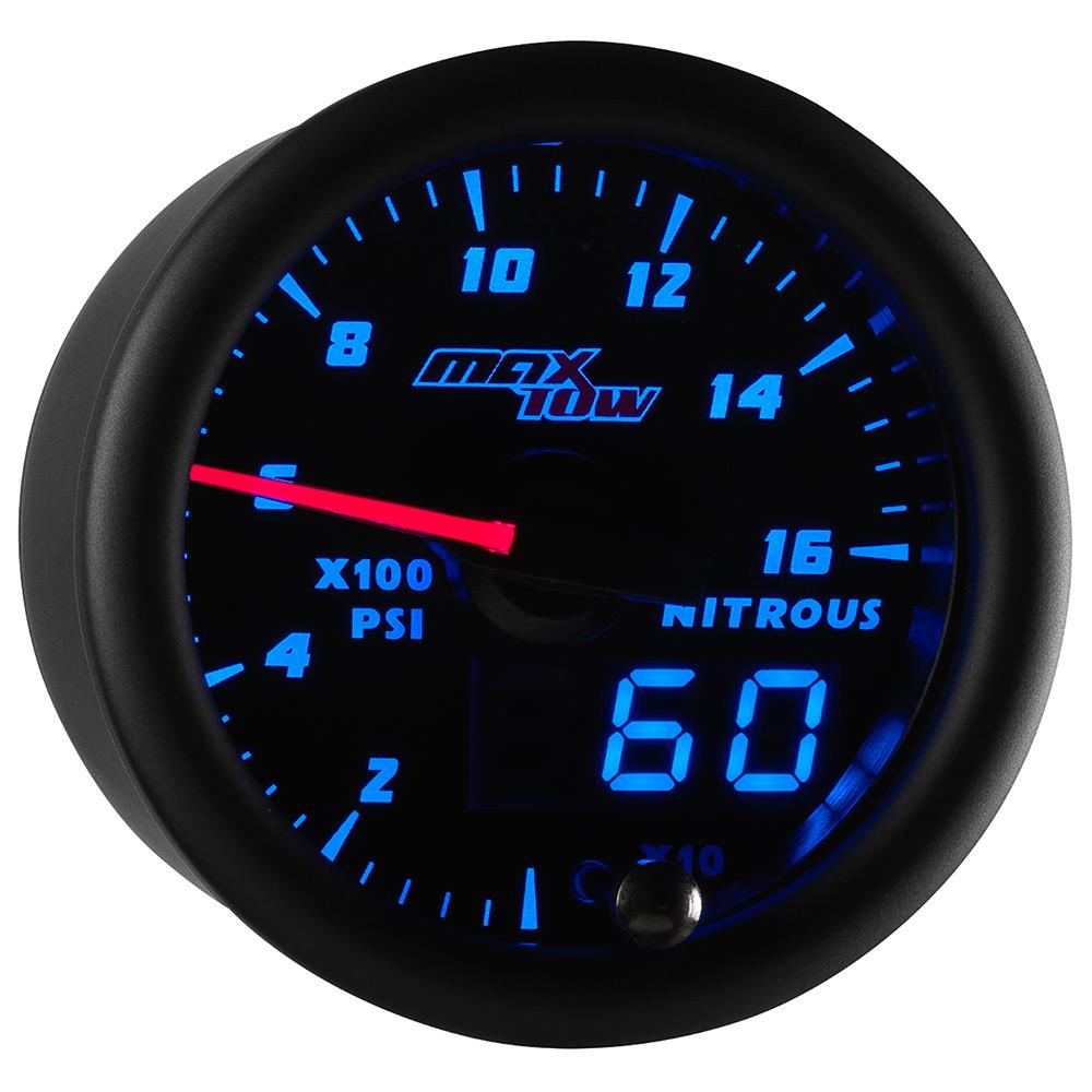 Black & Blue MaxTow Double Vision Nitrous Pressure Gauge