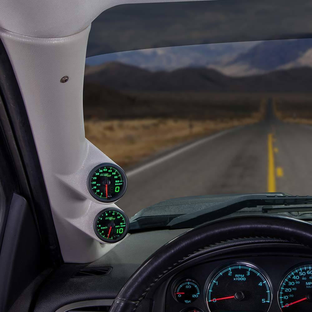 Green MaxTow Dual Gauge Package for 2007-2013 GMC Sierra Duramax