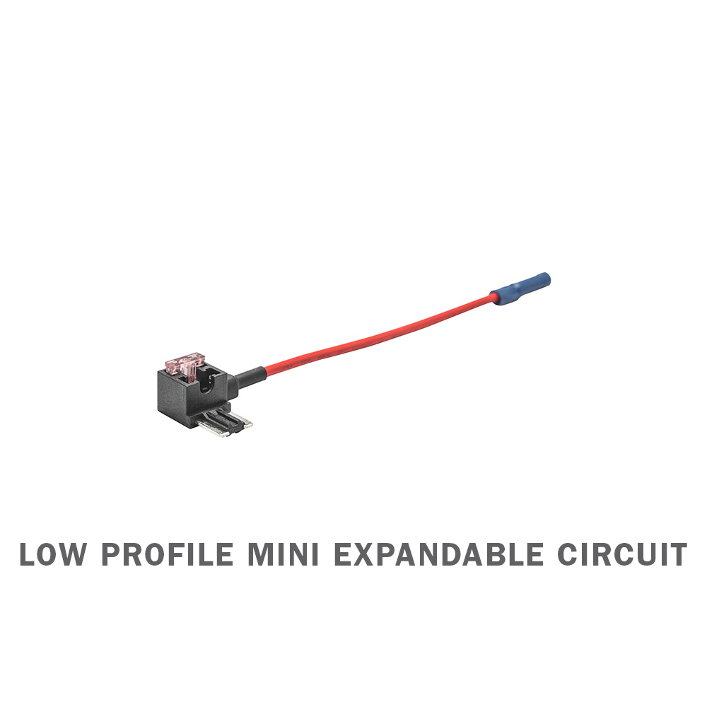 Low Profile Mini Expandable Circuit & 4 Amp Fuse