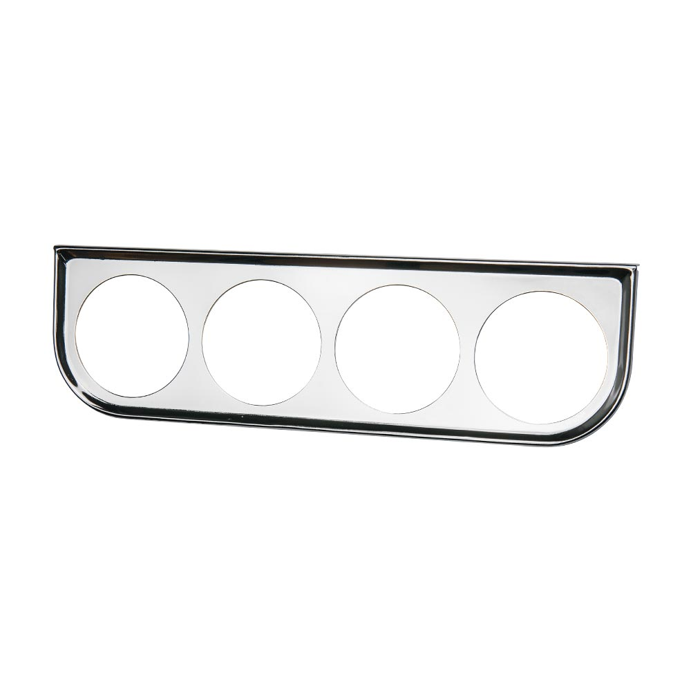 Universal Chrome Quad Gauge Under Dashboard Mounting Bracket Pod
