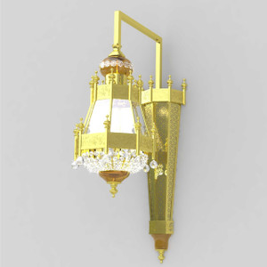 Orient Star Wall Sconce