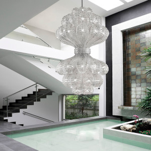 Contemporary Glass Reflection