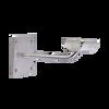 Sissone - Custom Barres Single Wall Mounted Ballet Barre Brackets - Open Saddle - STAINLESS STEEL