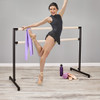 ARABESQUE -Freestanding Ballet Barre - STEEL(Black)-MAPLE