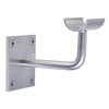 Custom Barres Fusion Wall Mounted Bracket - SILVER - Can be mounted facing up.  Additional  Strength