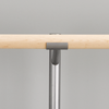 Open Saddle - Barre is connected with 2 screws under the saddle