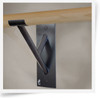 Cabriole Single - Wall Mounted Bar Bracket - Wall Mounted Barre Bracket  by Custom Barres