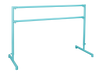 Custom Barres 2nd Arabesque - Adjustable Portable Ballet Bar - All Steel -  Tiffany Blue