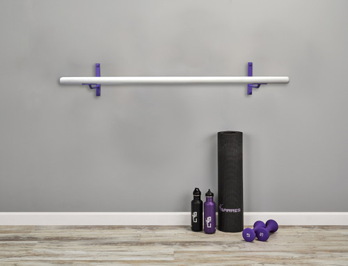 Core Ballet Barre Kit - Fitness Barre Kit - Purple