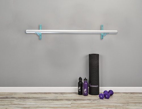 Core Ballet Barre Kit - Fitness Barre Kit - Tiffany Blue
