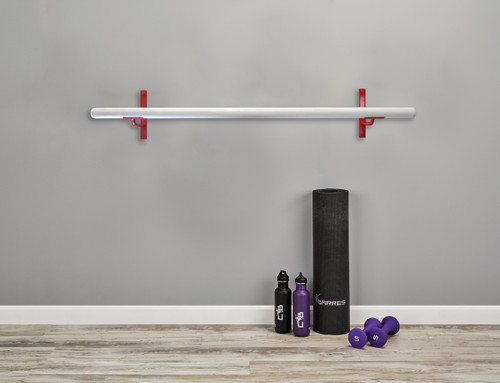 Core Ballet Barre Kit - Fitness Barre Kit - Red