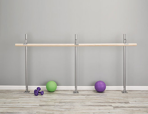 Floor Mounted Ballet Barre Kit by Custom Barres
