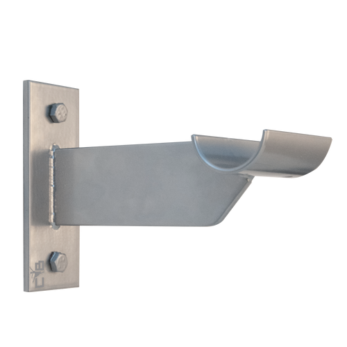 Petite Allegro Barre Fitness Wall Bracket / Ballet Barre Bracket - SILVER