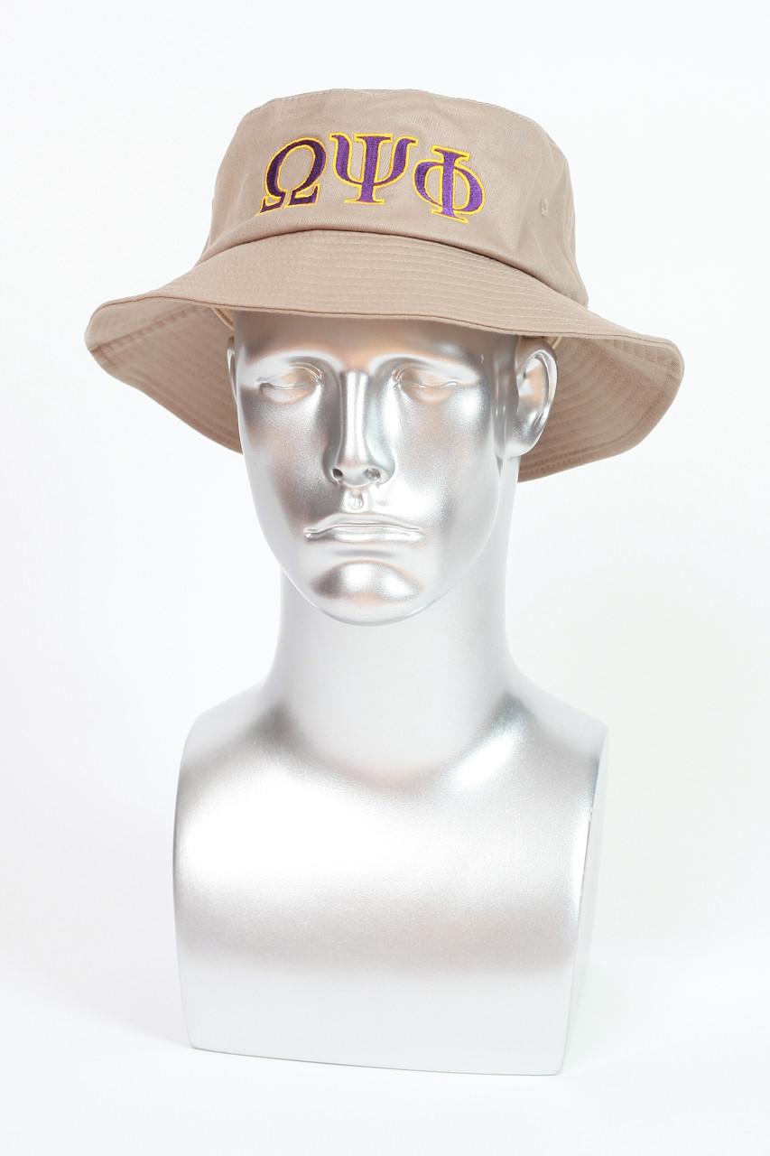 OMEGA PSI PHI BUCKET HAT - Greek Kulture 8fc6696db06