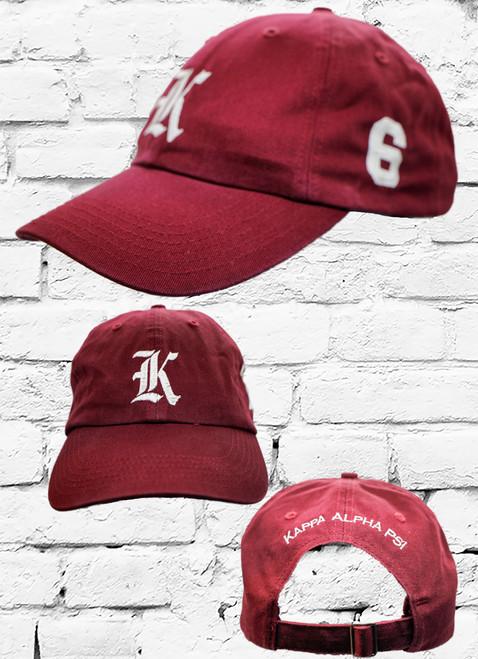 KAPPA #6 VINTAGE CAP