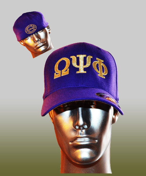 OMEGA PSI PHI (FIETTS) FITTED CAP