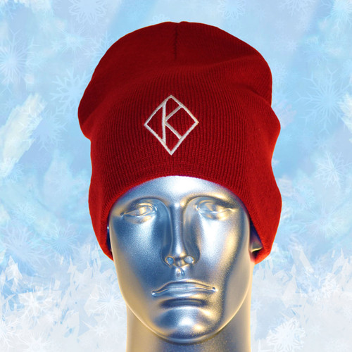 When it's cold and your breath is visible, the Kappa Winter. Beanie never fails. Its  un-cuffed design pairs well with any outfit and adds a modern look while knit fabric helps keep you warm. The Diamond K logo is embroidered on the front.