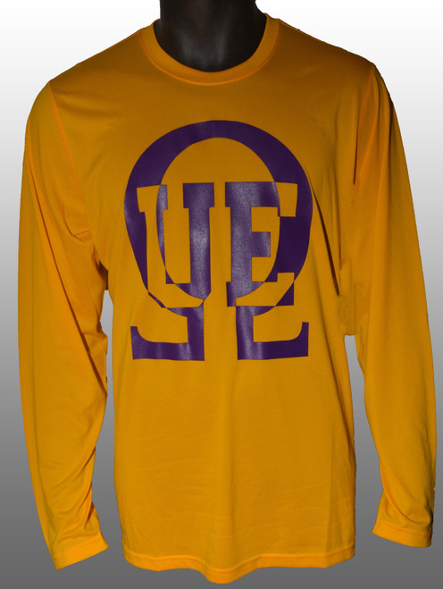 QUE ATHLETIC LONG SLEEVE T-SHIRT