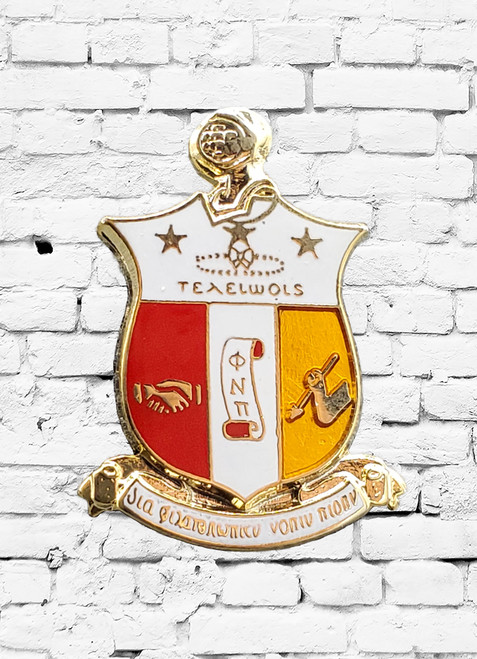 Kappa Alpha Psi 1 inch Shield lapel pins.