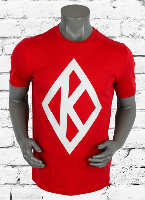 Made with soft cotton fabric, the ΚΑΨ Diamond K Men's T-Shirt delivers a casual look and feel in an oversized design. Iconic graphic at the front.