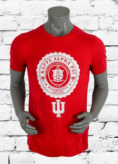 ΚΑΨ Heritage logo graphic tee is a modern twist to a university themed graphic. This iconic Nupe design is both bold and classic. The perfect gift for any member of Kappa Alpha Psi.