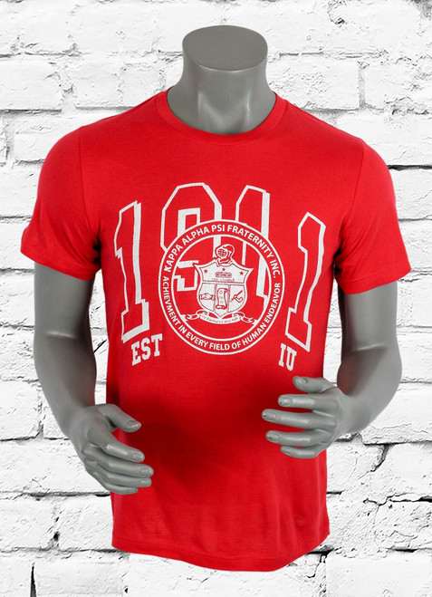 Sporting collegiate style imagery, our Kappa Alpha Psi University Graphic Tee might inspire you to go back to home-coming or the next Kappa Kool-out. Either way, the soft cotton fabric will always keep you comfortable.