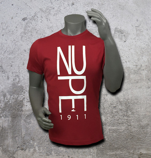 The Nupe Yo T-Shirt is designed for long-lasting wear. Cotton jersey fabric is soft and comfortable and won't distract from your need to focus.