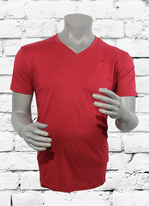 Crimson classic ΚΑΨ v-neck offers a simple but elegant look for any member of Kappa Alpha Psi. This jersey T-shirt is an off-duty essential you'll reach for again and again.