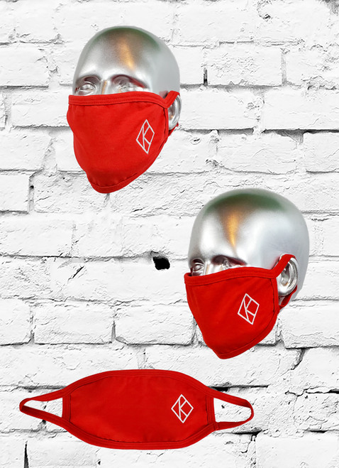 This ΚΑΨ Cotton Mask is a great to wear during these trying times in country. The mask is comfortable, reusable, and washable. Enjoy the functionality while you show off your ΚΑΨ pride with embroidered fraternity face mask.