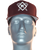 Burgundy  Kappa Alpha Psi Kane Hat. Flex Fit Cap featuring an embroidered Diamond K with Kanes logo at the front panels with 1911 logo at the rear.