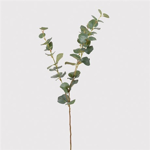 Natural Eucalyptus Spray, a really realistic foliage that works really well with a single stem to fill a vase. Our natural eucalyptus looks really stunning with white hydrangeas to create a beautiful simple vase of flowers.
