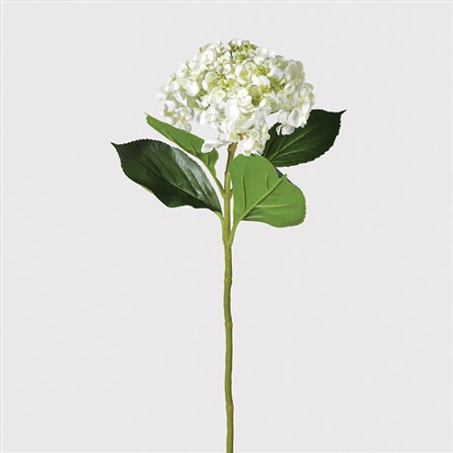 faux white lace head hydrangea