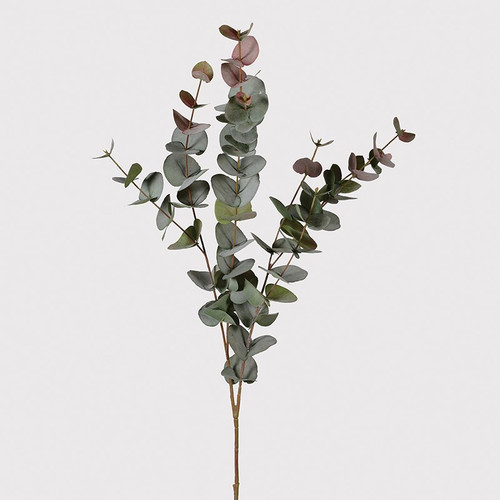 Large Natural Blush Eucalyptus Spray, very realistic, lovely either on its own in a tall vase or paired with some extra flowers and foliage