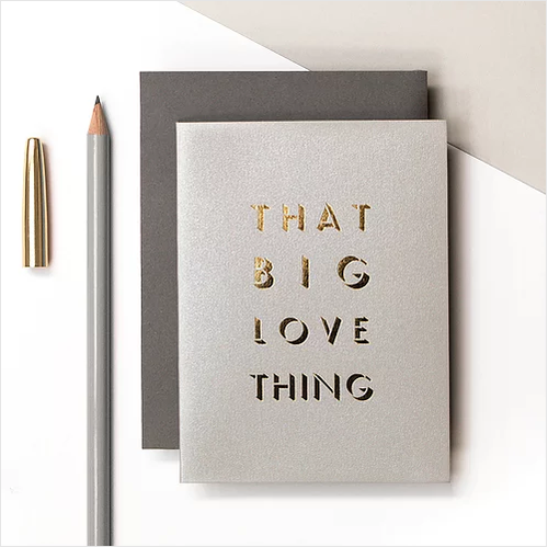 Big Love Thing Small Card
