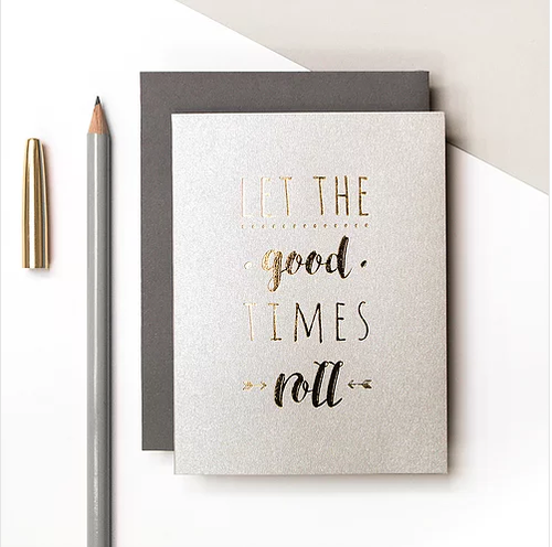 Good Times Small Card