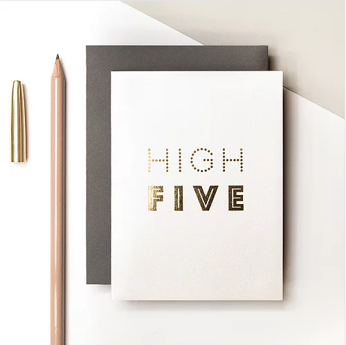 High Five Small Card