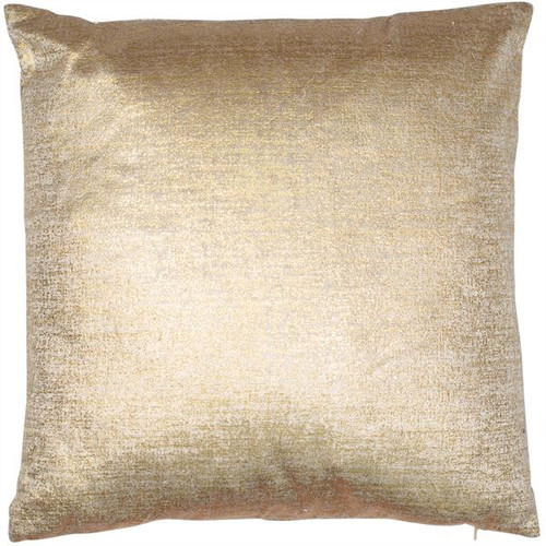 The Malini Velveteen cushion is a luxurious soft plain velvet cushion in a stunning gold colour.