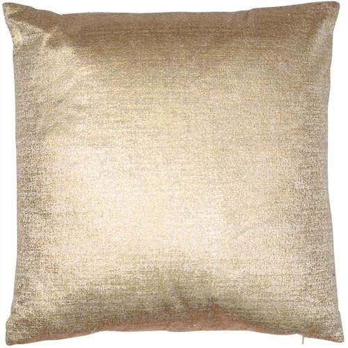Velveteen Ltgold Cushion
