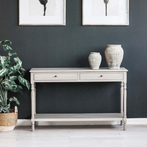 grey painted biggie best venice console