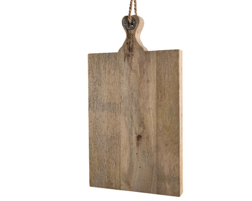 mango wood paddle chopping board