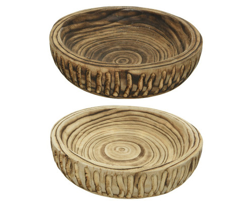 Paulownia Decorative plate, 2 colours