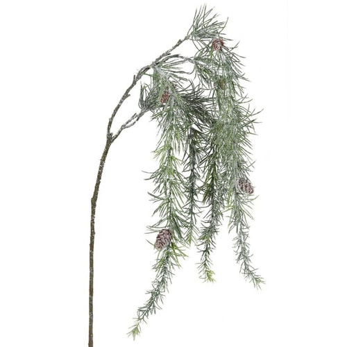 Hanging Pine Spray With Ice