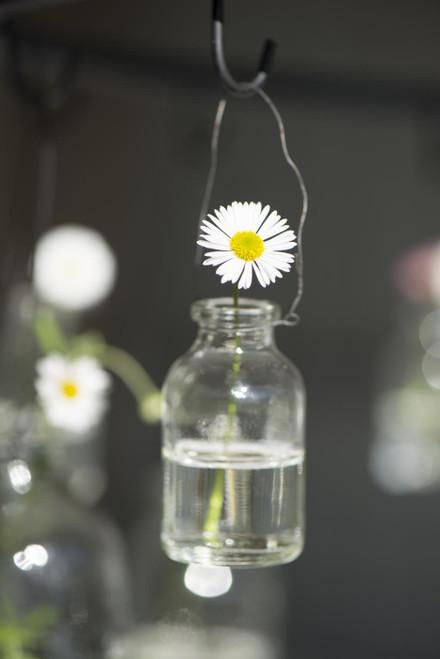 mini vase on wire, candle holder , ib laursen