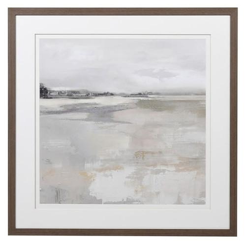 water colour landscape framed print