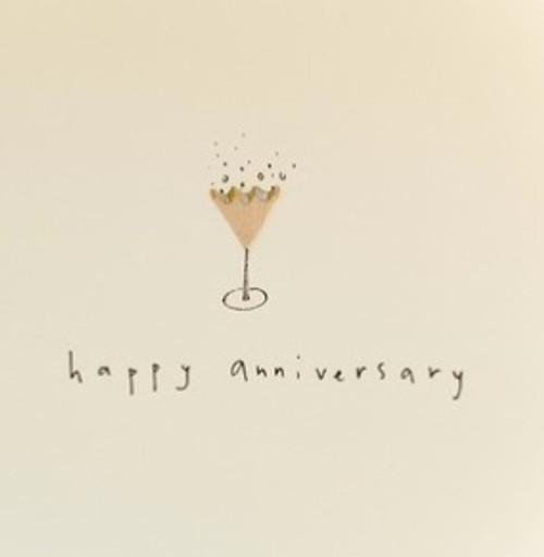 Anniversary Fizz Card