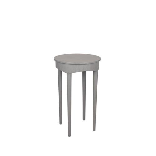 Dark Grey Round Occasional Table