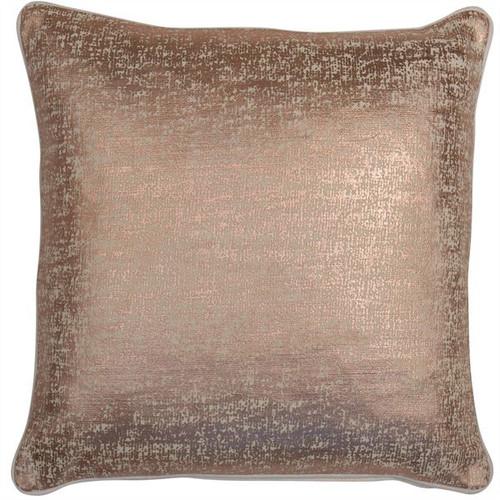 Rose Gold Shimmer Cushion