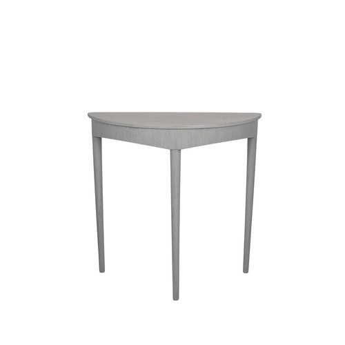 Dark Grey Half Moon Occasional Table